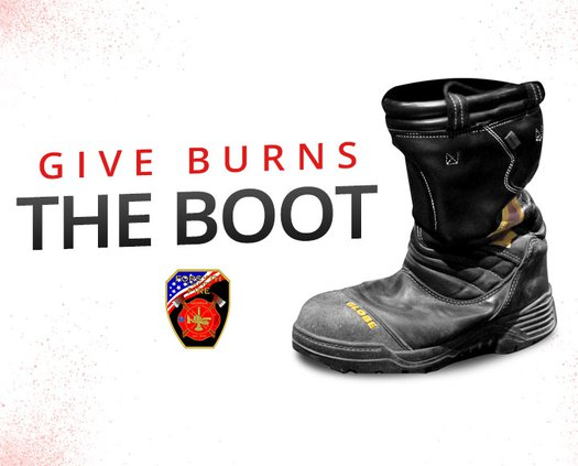 Give boots the burn