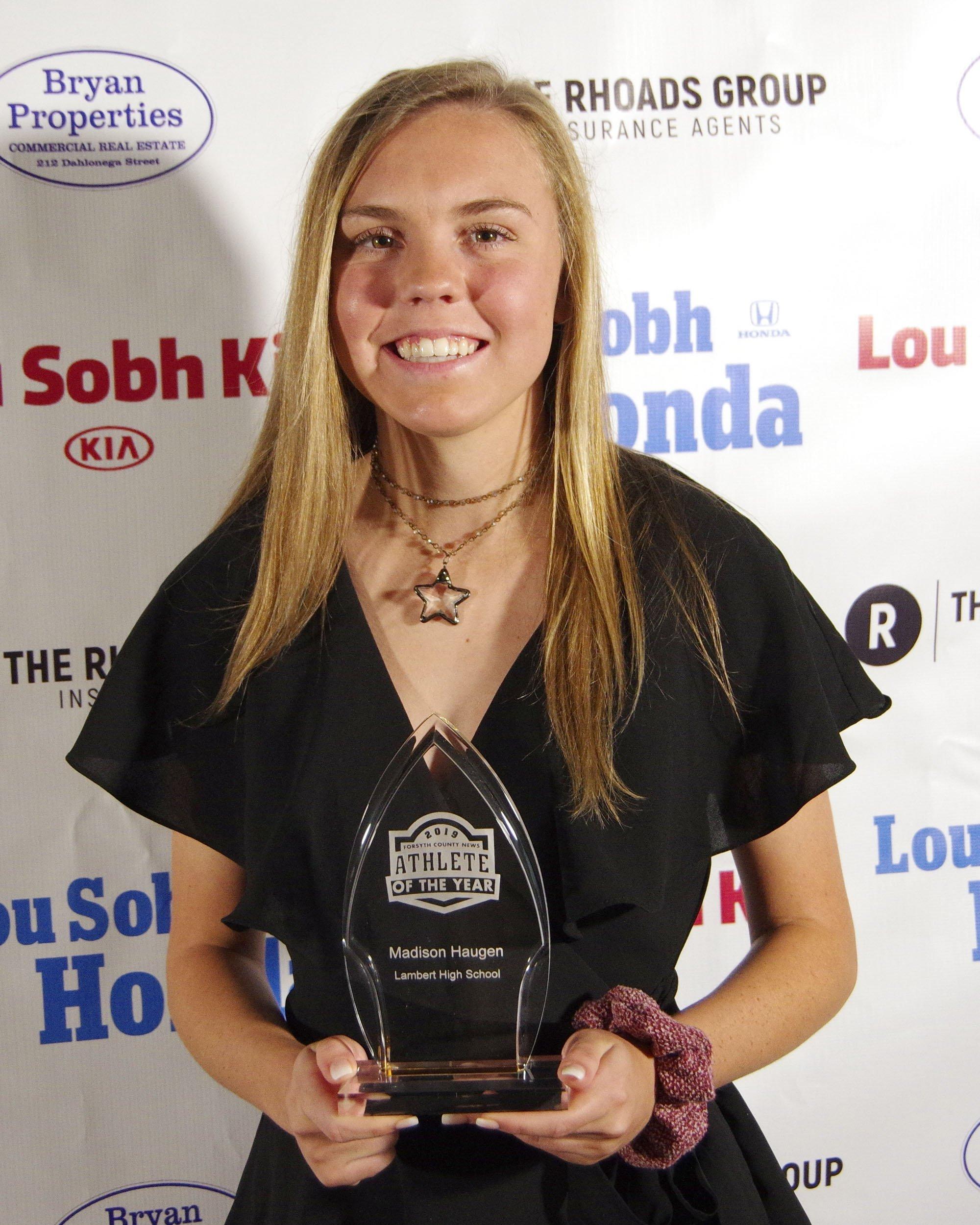 Madison Haugen Athlete of the Year