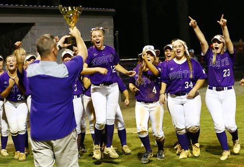 north softball region title 2018
