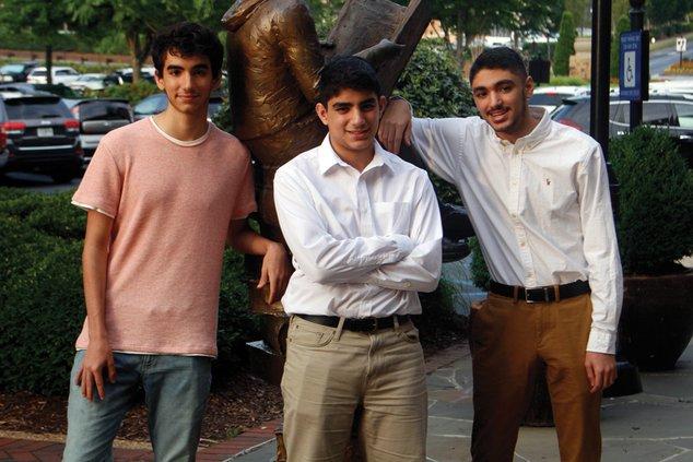 Rommi, Adam and Zane Kashlan
