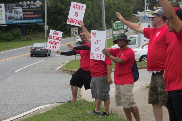 CWA protest 1