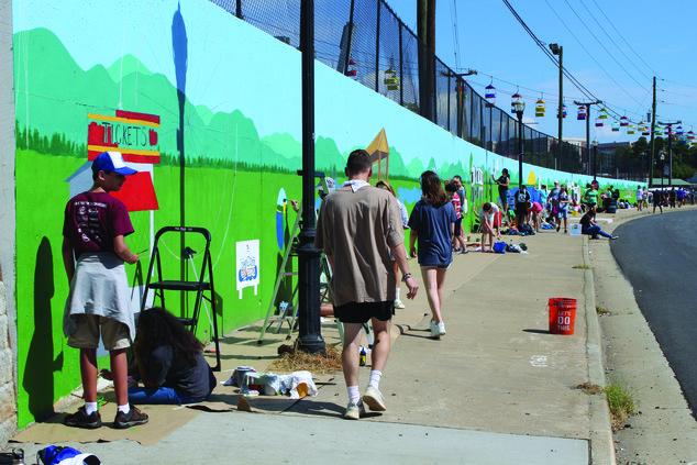 Fairgrounds Mural