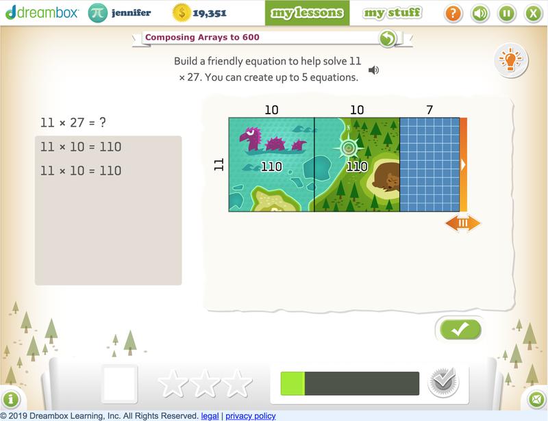 DreamBox screenshot 2