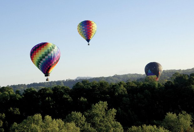 Balloons Over Georgia