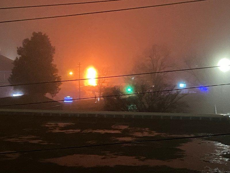 Dahlonega Street fire