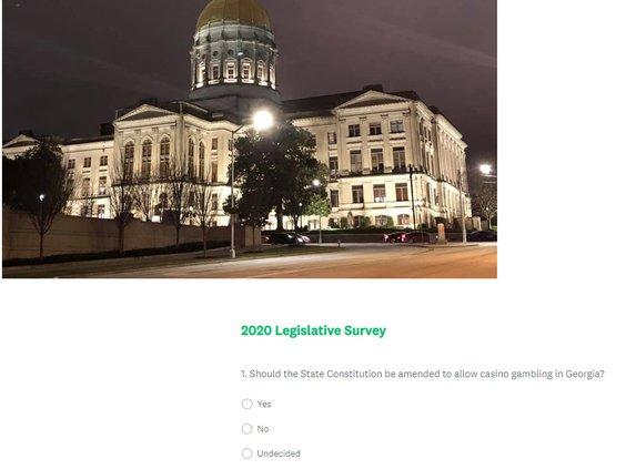 Legislative survey