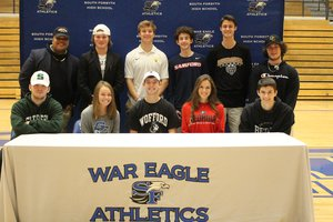 South signing