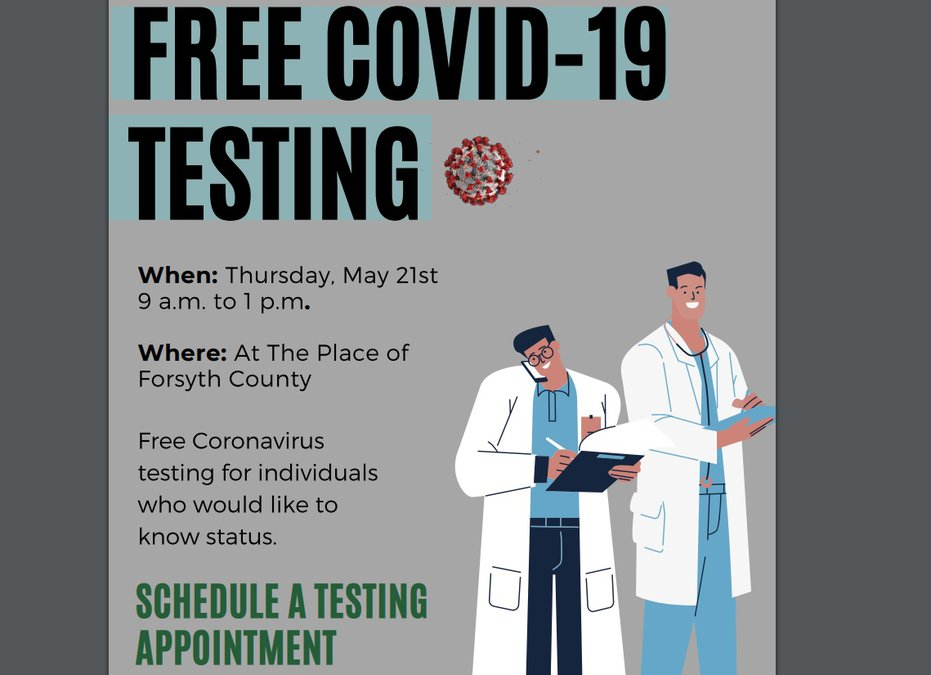 Georgia Highlands Medical Services To Offer Free Covid 19 Testing On Thursday At The Place Forsyth News