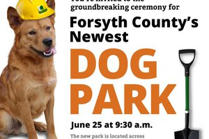 Dog Park Groundbreaking