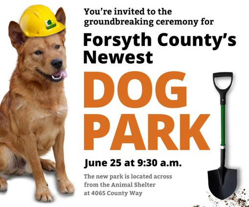 Dog Park Groundbreaking