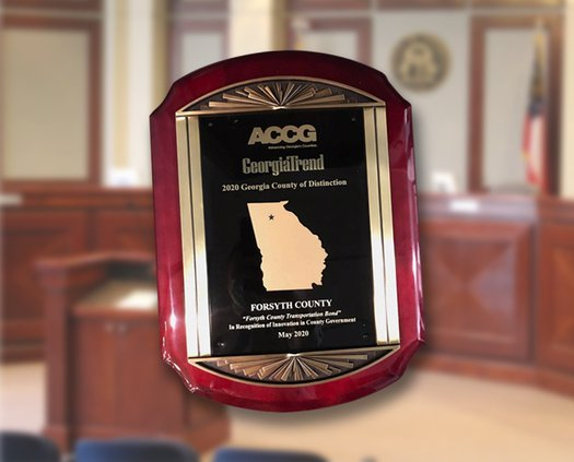 County of Excellence Award