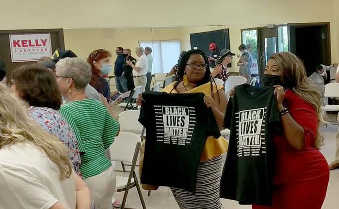 BLM at Loeffler event
