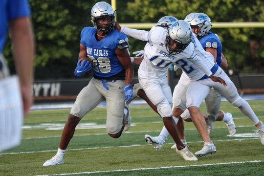 Football: South Forsyth's defense shines in Blue/White scrimmage