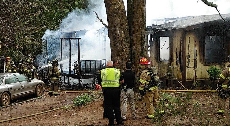 Cumming home burns
