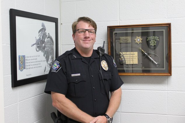 Cumming Police Chief David Marsh