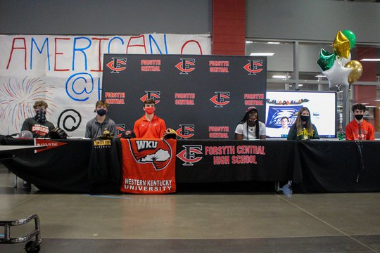 Forsyth Central sends seven seniors to play at next level