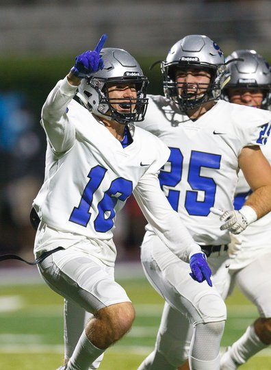 Football: South keeps playoff hopes alive with 52-7 blowout win