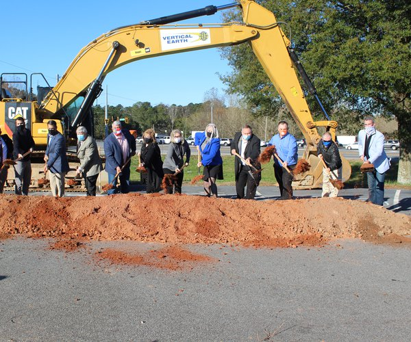 Ga. 400 Hwy. 369 interchange groundbreaking