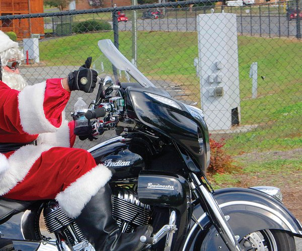 Buck Jones Toy Run