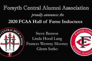 2020-12-22 Forsyth Central High School Hall of Fame