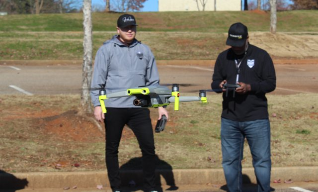 Commissioners approve drone flying  at Denmark Park