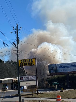 Browns Bridge Road Fire
