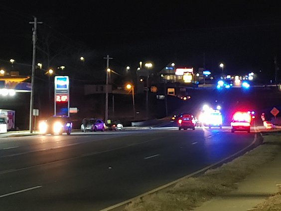 Pedestrian fatality Canton Highway