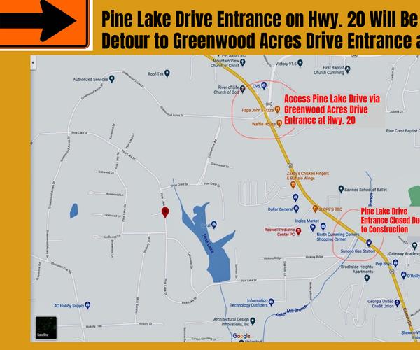 Pine Lake Drive