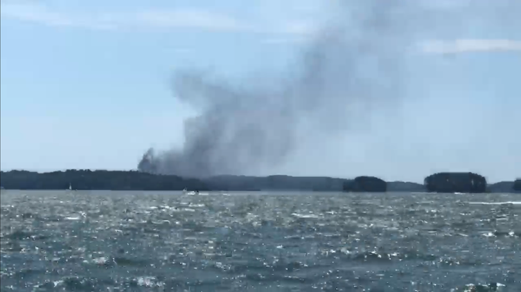 Boat explosion