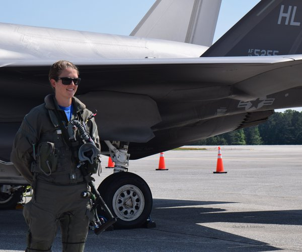 """Maj. Kristin """"Beo"""" Wolfe"""