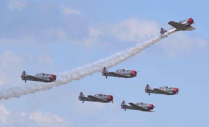 GEICO Skytypers Airshow Team