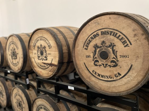 legends distillery
